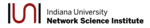 Indiana University Network Science Institute Logo